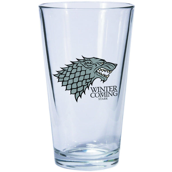 A Game of Thrones Pint Glass - Stark