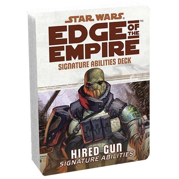 Star Wars RPG: Edge of the Empire Hired Gun Signature Abilities Deck