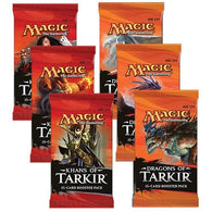 Magic the Gathering Bundle: 3 X Khans of Tarkir and 3 X Dragons of Tarkir Booster Packs