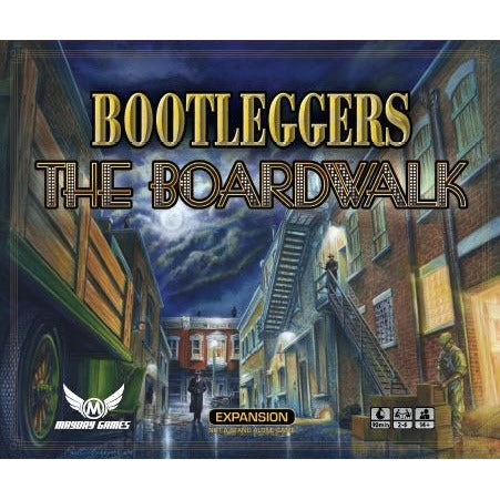 Bootleggers: The Boardwalk Expansion