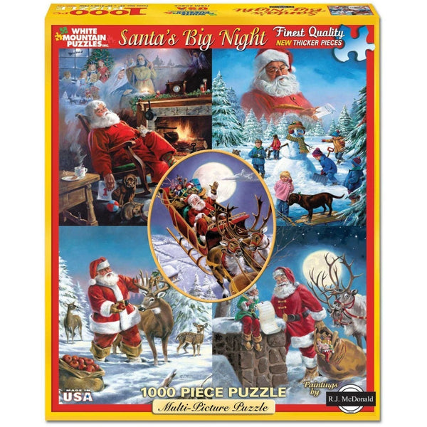 Welcome Christmas Puzzle