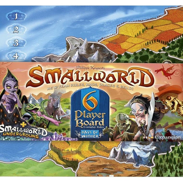 Small World: 6-Player Map