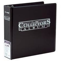 3 Black Collector Card Album