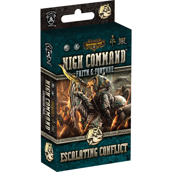 High Command DBG: Warmachine - Faith & Fortune: Escalating Conflict Expansion