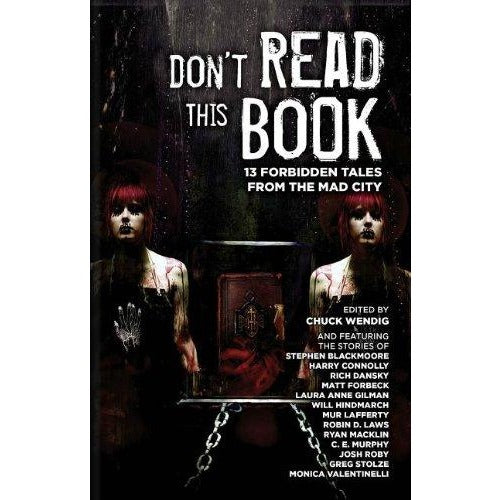 Dont Rest Your Head: Dont Read This Book Anthology Paperback