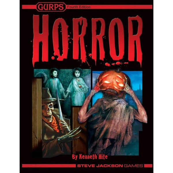 Gurps: 4th Edition Horror Hardcover