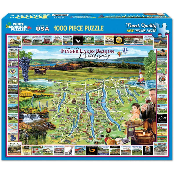 Finger Lakes - Puzzle