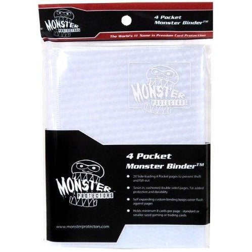 Binder: 4pkt Monster Holofoil Wh-Wh Pgs