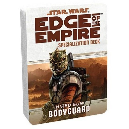 Star Wars RPG: Edge of the Empire Bodyguard Specialization Deck