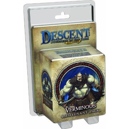Descent Journeys in the Dark 2nd Edition: Verminous Lieutenant Pack