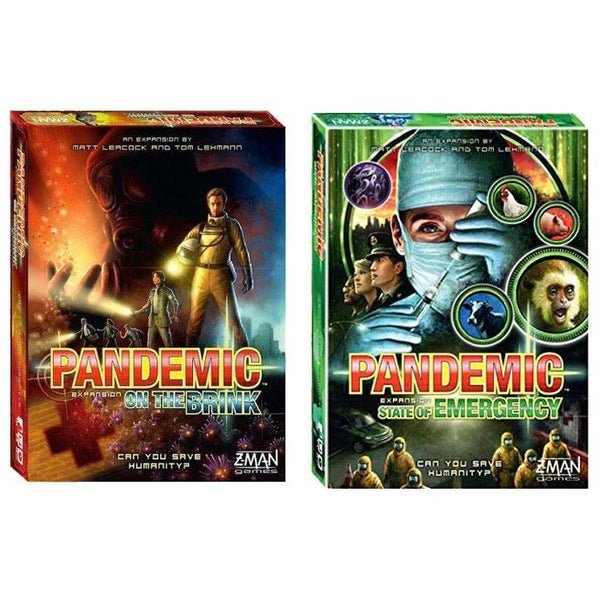 Pandemic Bundle: On The Brink and State of Emergency Expansions
