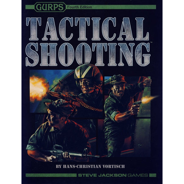 Gurps: 4th Edition Tactical Shooting