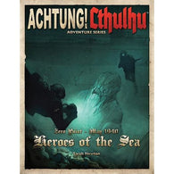 Achtung! Cthulhu RPG: Zero Point-Heroes of the Sea
