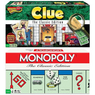 Classic Game Bundle: Clue and Monopoly