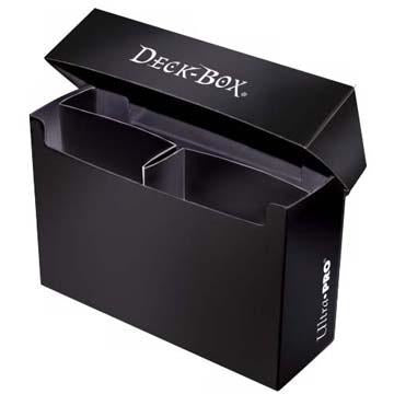 Black Oversized Deck Box