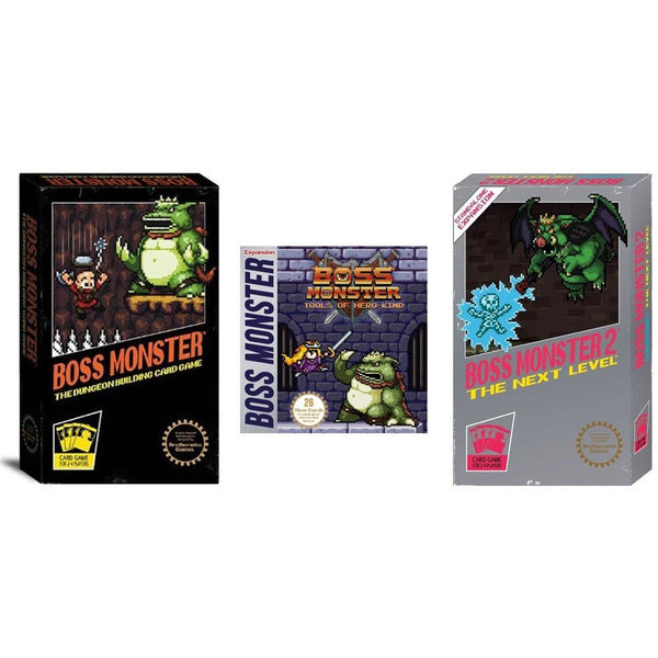 Boss Monster Bundle: Base Game and Tools of Hero-Kind / The Next Level Expansions