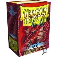 Dragon Shields: (100) Red