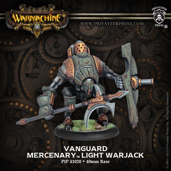 Warmachine: Mercenaries Vanguard Light Warjack
