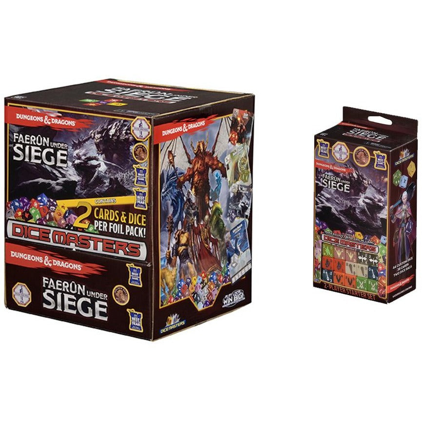 Dungeons and Dragons Dice Masters Bundle: Faerun Under Seige Starter Set  and Gravity Feed