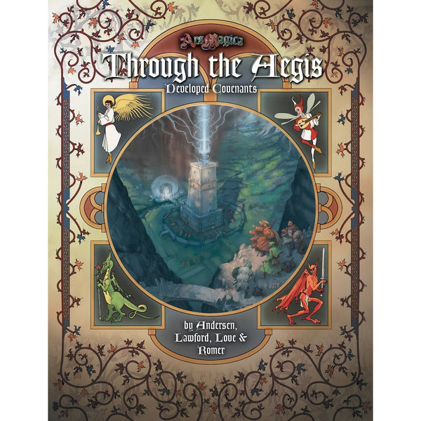 Ars Magica: Through the Aegis Hardcover