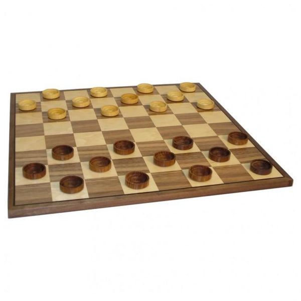 "15"" Checkers Walnut/Maple Board"
