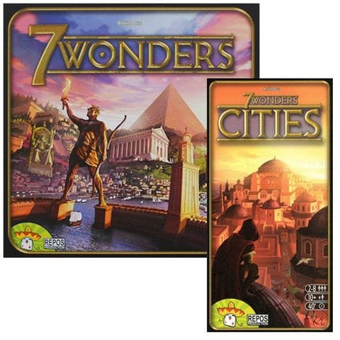 7 Wonders Bundle: 7 Wonders Plus Cities Expansion