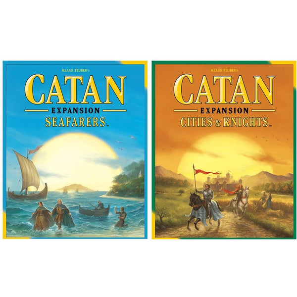 Catan 5th Edition Bundle: Seafarers Plus Cities Expansion