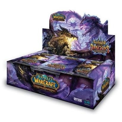 World of Warcraft CCG: Twilight of the Dragons Booster Display