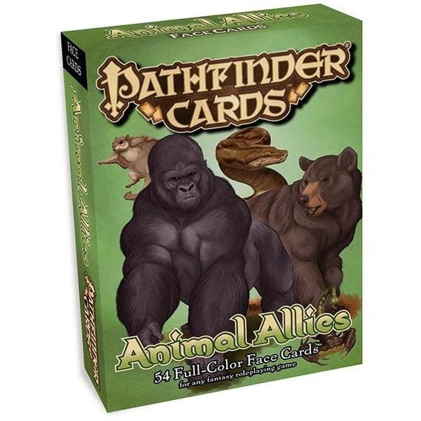Pathfinder Face Cards: Animal Allies