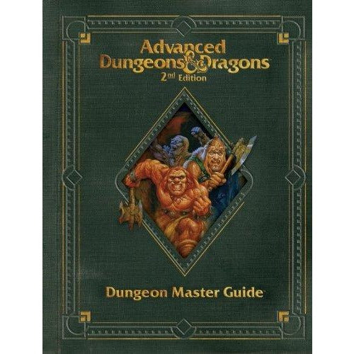 Advanced Dungeons and Dragons 2nd Edition: Premium Dungeon Master Guide Hardcover