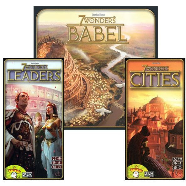 7 Wonders Bundle: Leaders / Cities / Babel Expansion
