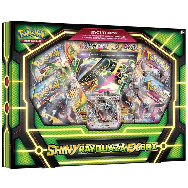 Pokemon TCG: Shiny Rayquaza EX Box