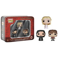 Pocket POP! Game Of Thrones 3 Pack Tin - Jon Snow, Tyrion & Daenerys