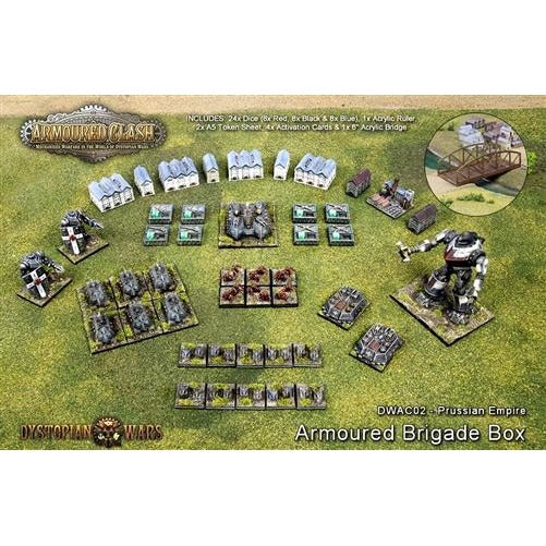 Armoured Clash: Prussian Empire Armoured Brigade Box