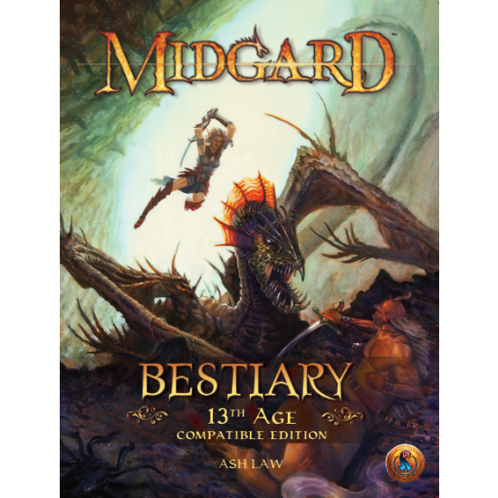 Midgard Bestiary 13th Age Compatible Edition