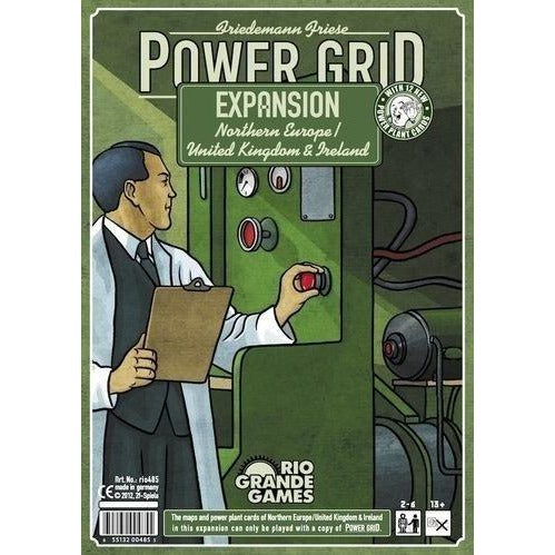 Power Grid: Northern Europe/United Kingdom and Ireland Expansion