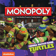 Teenage Mutant Ninja Turtles Monopoly (Cartoon Square Box)
