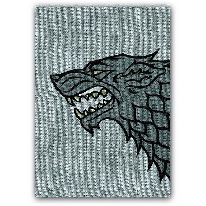 A Game of Thrones: House Stark Art Sleeves (50) (HBO Edition)