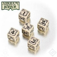 Arkham Horror Dice Set Beige/Black (5)