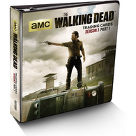 The Walking Dead: TV Season 3 Part 1 Trading Cards Binder