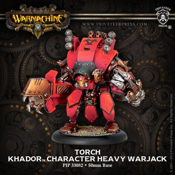 Warmachine: Khador Torch Character Heavy Warjack (Upgrade Kit)
