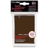 Brown Small Size Deck Protector Pack