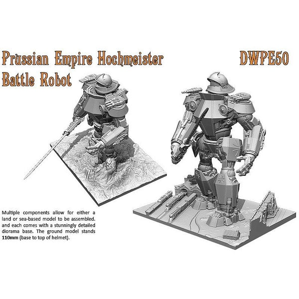 Dystopian Wars: Prussian Empire Hochmeister Battle Robot