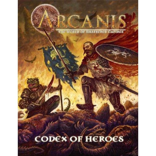 Arcanis RPG: Codex of Heroes