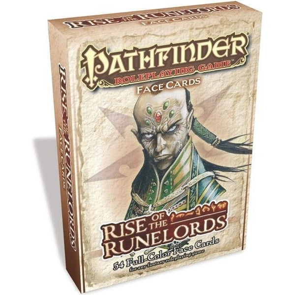GameMastery Face Cards: Rise of the Runelords Adventure Path