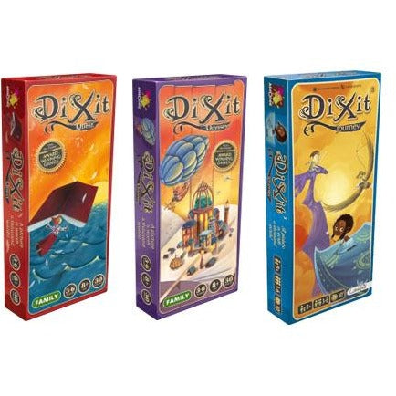 Dixit Bundle: Quest / Odyssey / Journey Expansion