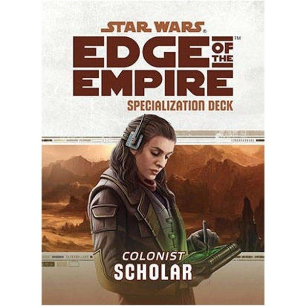 Star Wars RPG: Edge of the Empire Scholar Specialization Deck
