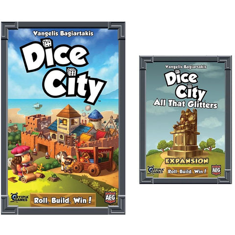 Dice City Bundle: Core Plus All That Glitters Expansion
