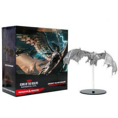 Dungeons and Dragons Fantasy Miniatures: Icons of the Realms Set 2 Silver Dragon Case Incentive