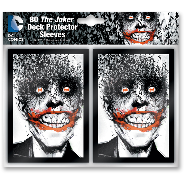 DC Comics: Deck Building Game Sleeve Pack The Joker